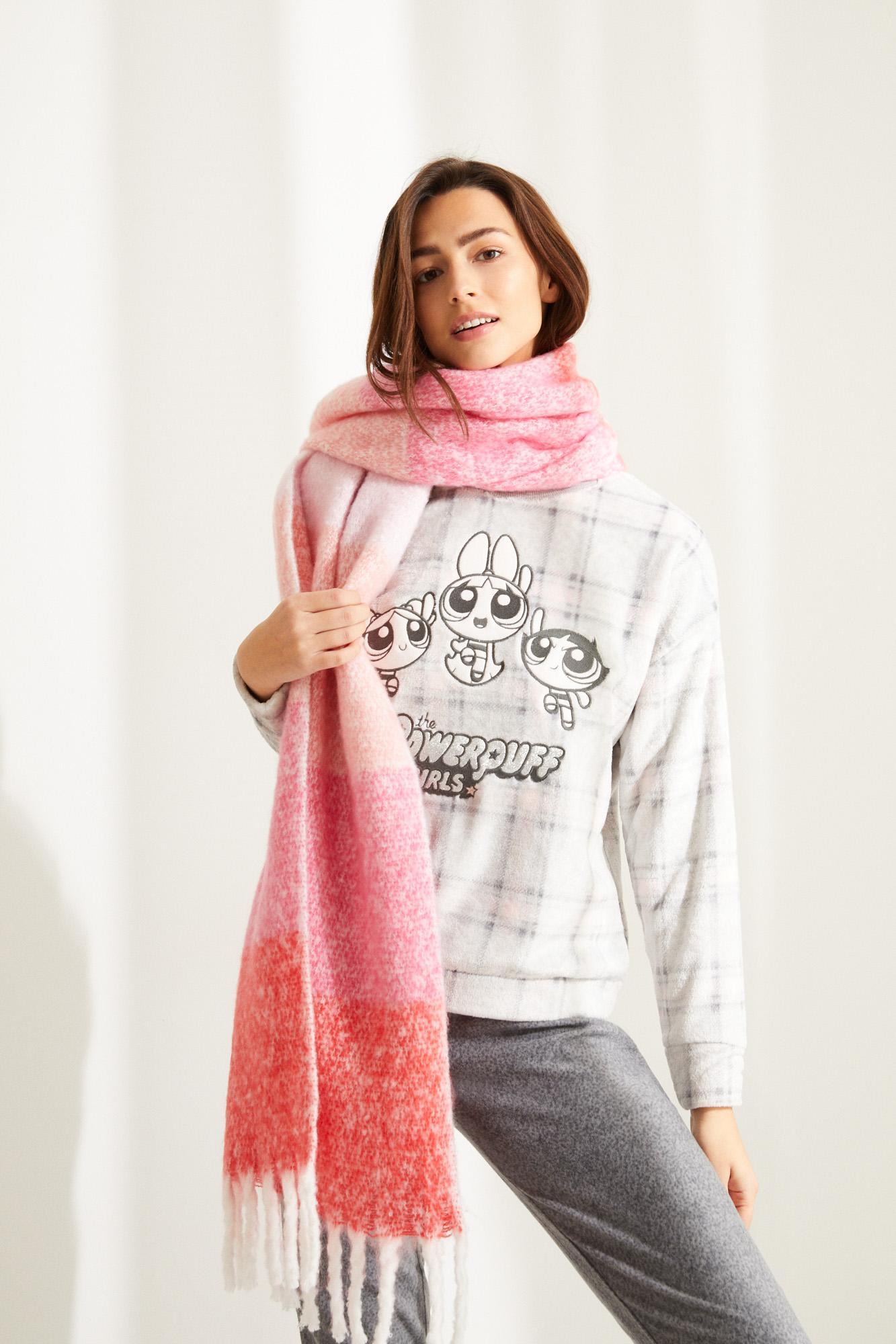 Pijama polar Supernenas cuadros