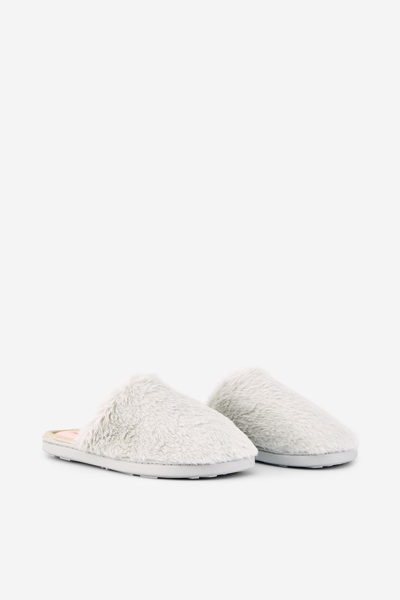 Zapatillas con pelo