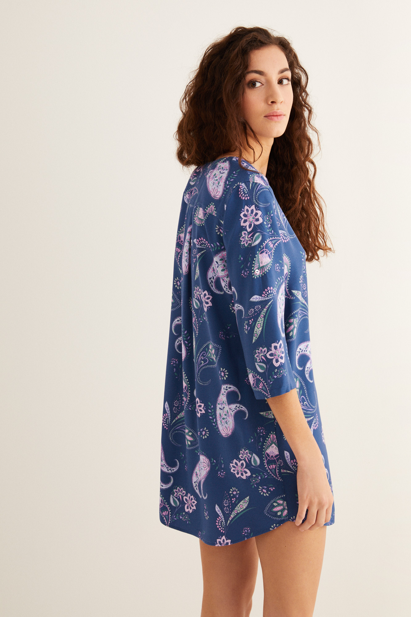 Camisola corta estampada | Pijamas | Fifty