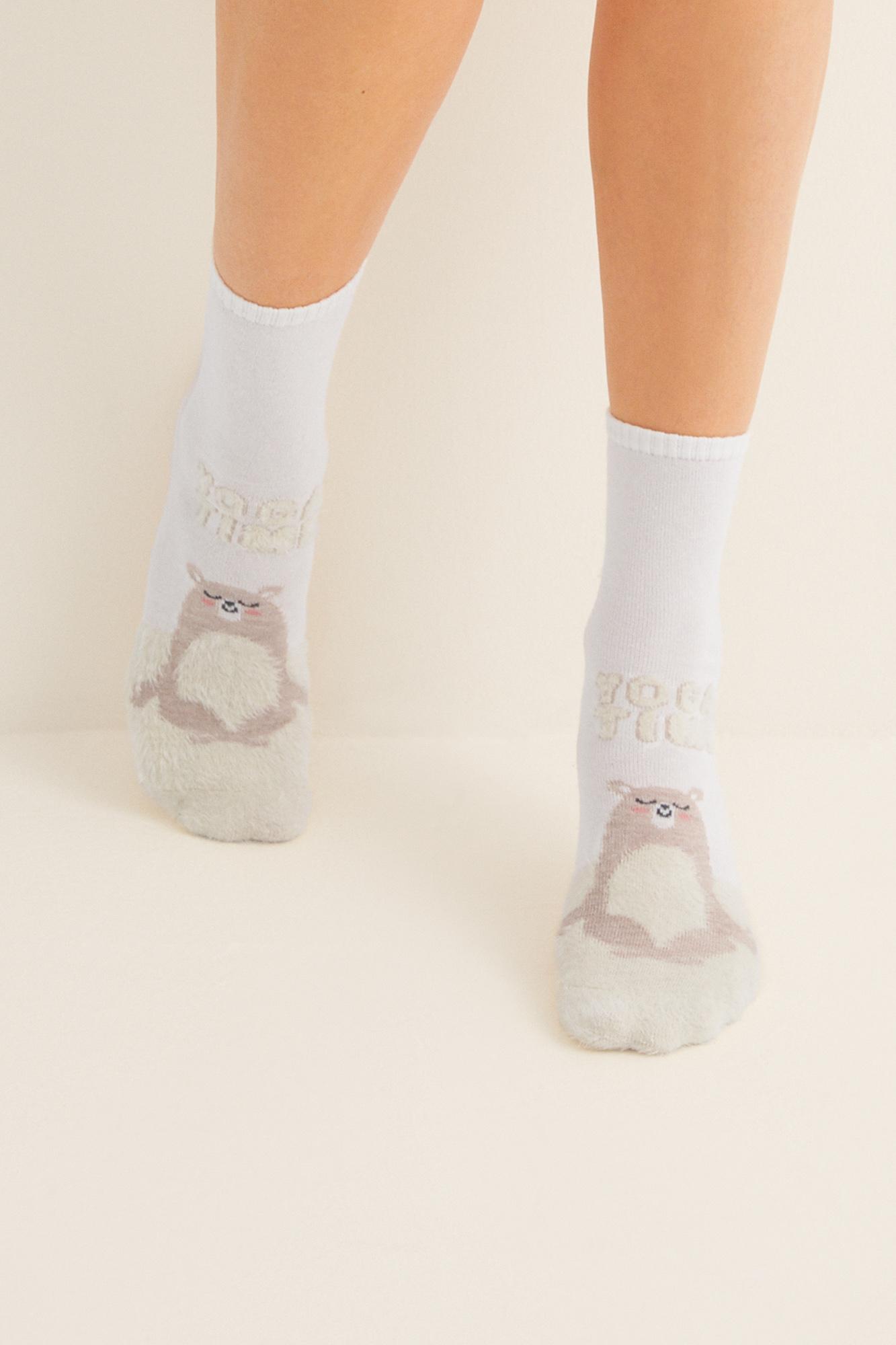 Calcetines medios estampados