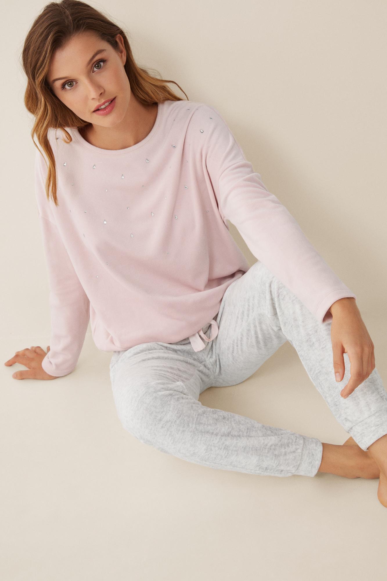 Pijama largo pantalón skinny