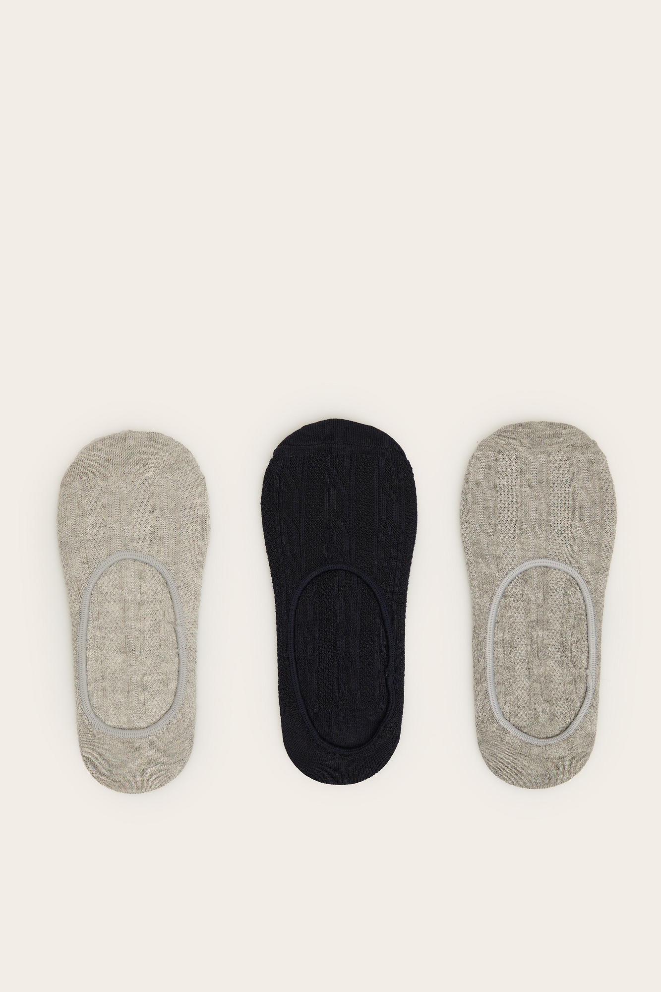 Pack de 3 calcetines invisibles